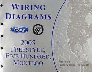 2005 ford freestyle five hundred mercury montego electrical rh factoryrepairmanuals com 2005 mercury montego radio wiring diagram 2005 Mercury Montego Specs