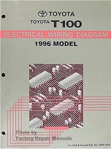 1996 toyota t100 truck electrical wiring diagrams original factory 1996 toyota t100 wiring-diagram 1996 toyota t100 truck electrical wiring diagrams original image 1