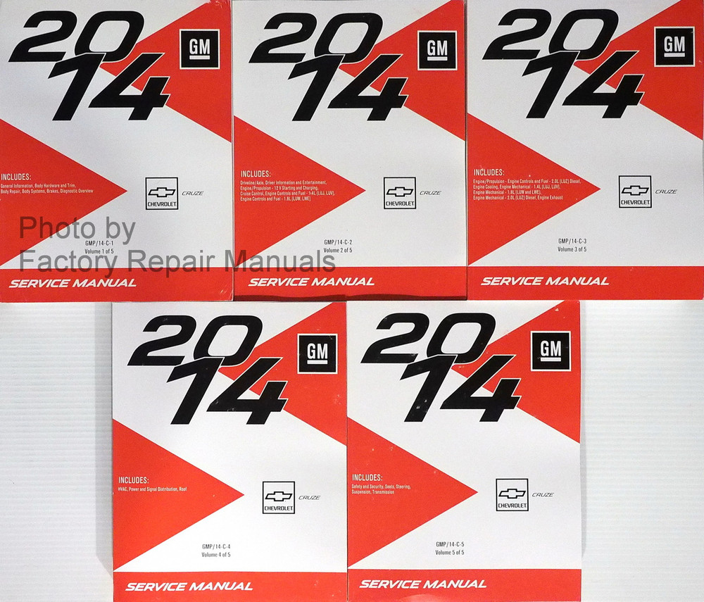 2013 chevy cruze repair manual