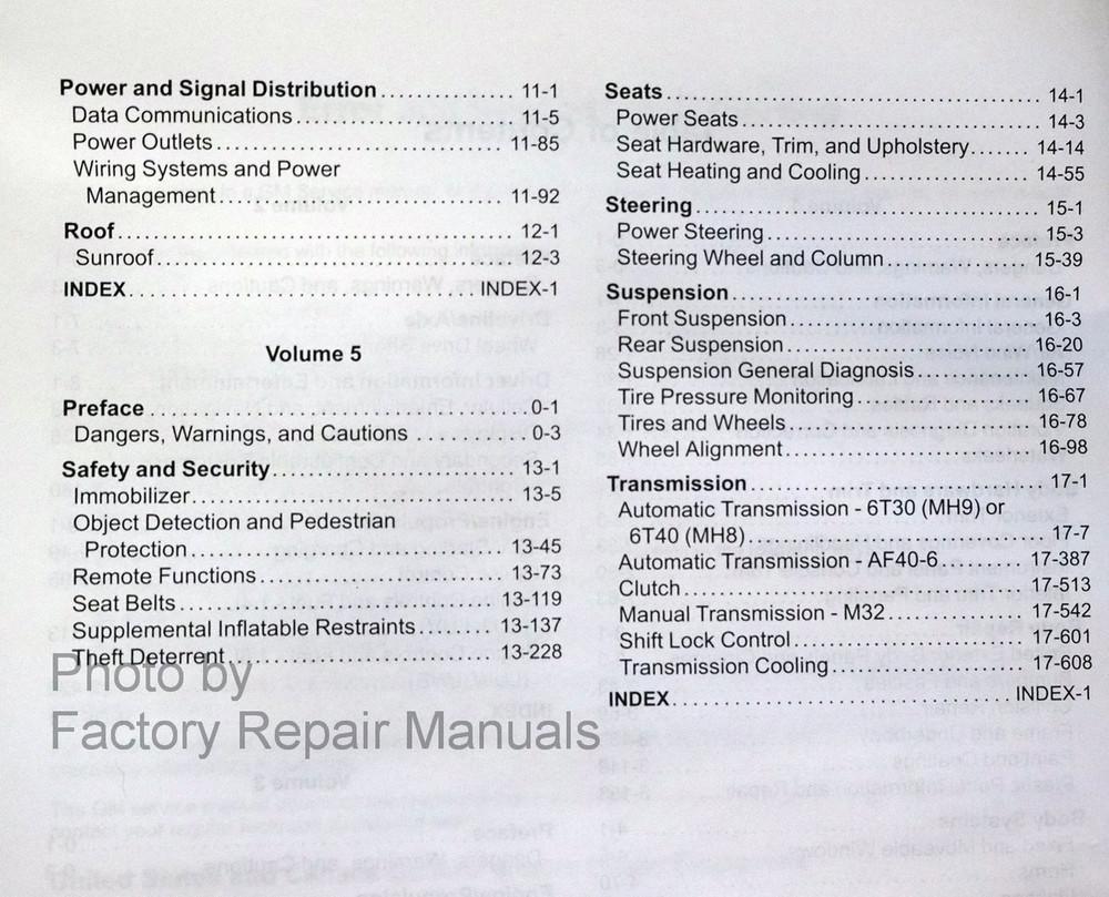Alarm System Wiring Diagram 2012 Chevy Cruze Colorado Fuse Box 2014 Factory Service Manual Complete Set Original Shop Radio