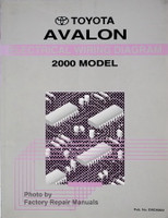 Toyota Avalon Electrical Wiring Diagrams 2000 Model