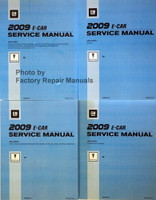 2009 Pontiac G8 Service Manual Volume 1, 2, 3, 4