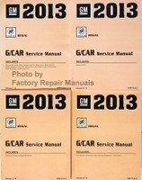 2013 GM G/Car Buick Regal Service Manual Volume 1, 2, 3, 4