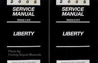 2003 Service Manual Liberty Volume 1, 2