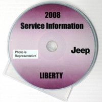 2008 Service Information Jeep Liberty