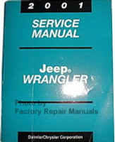 2001 Service Manual Jeep Wrangler
