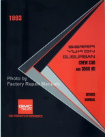 1993 GMC Sierra Yukon Suburban Crew Cab and 3500 HD Service Manual