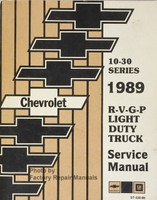 1989 Chevy R V G P Light Duty Truck Service Manual