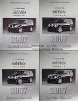 2007 Dodge Nitro Factory Service Manual Complete Set Original Shop Repair