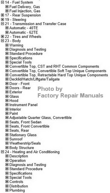 2013 chrysler 200 dodge avenger factory service manual cd rom rh factoryrepairmanuals com Chrysler Manual Transmission Chrysler Sebring Manual