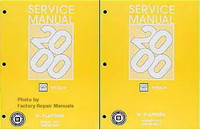 Service Manual 2000 Oldsmobile Intrigue Volume 1, 2