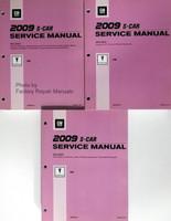 2009 Pontiac Vibe Service Manuals GM S Platform