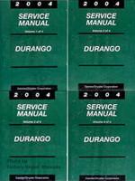 2004 Dodge Durango Factory Service Manual Set - Original Shop Repair