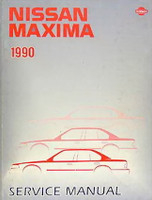 1990 Nissan Maxima Factory Service Manual - Original Shop Repair