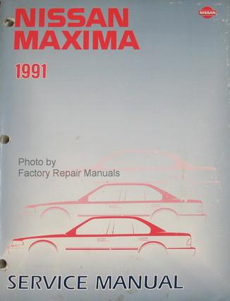 1991 nissan maxima factory service manual original shop repair rh factoryrepairmanuals com 1995 Nissan Maxima 1989 Nissan Maxima