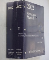 2002 Workshop Manuals Lincoln LS Volume 1, 2 Spine View