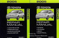 2005 toyota sienna factory service manual 2 volume set original rh factoryrepairmanuals com 2002 toyota echo shop manual toyota echo 2005 repair manual