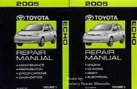 2005 toyota sienna factory service manual 2 volume set original rh factoryrepairmanuals com toyota echo service manual pdf toyota echo 2005 owners manual pdf