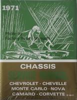 1971 Chassis Service Manual Chevrolet Chevelle Monte Carlo Nova Camaro Corvette