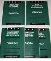 2004 Chrysler Pacifica Factory Shop Service Manual 5 Volume Set
