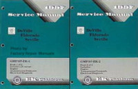 1997 Cadillac DeVille, Eldorado and Seville Factory Shop Service Manual Set