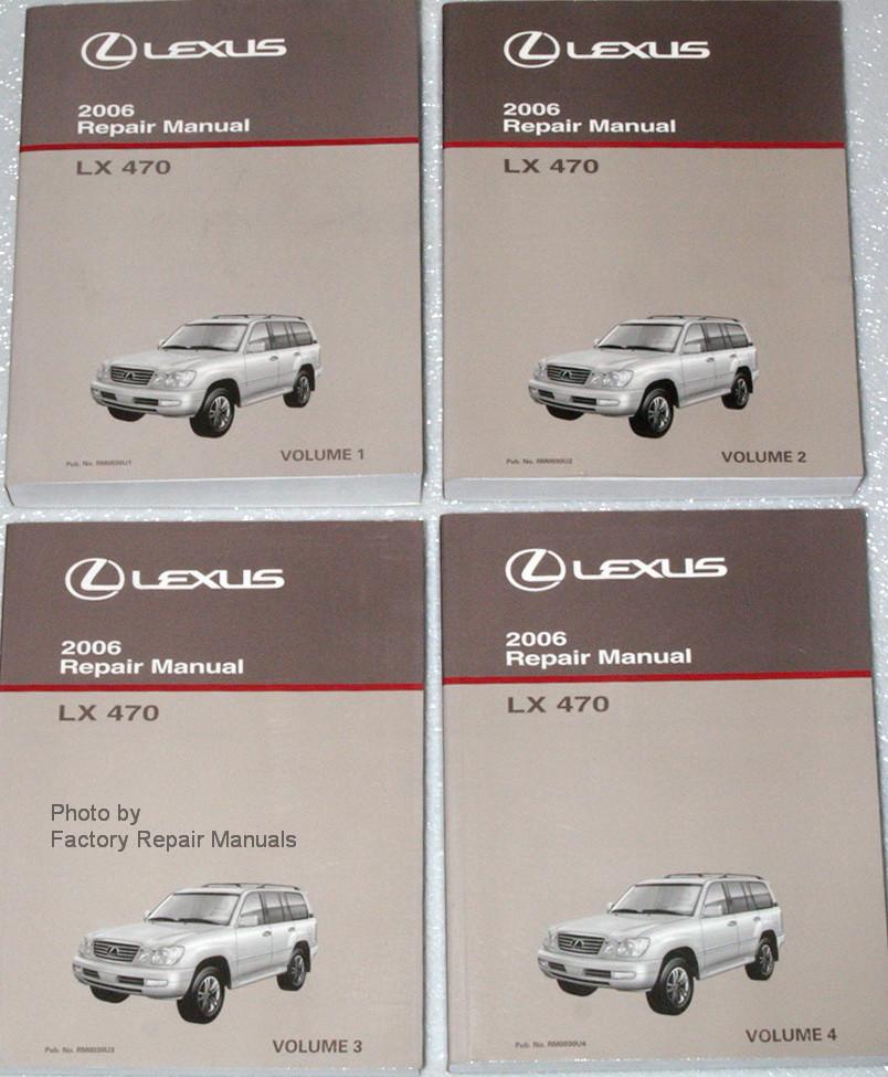 Lexus Lx470 Service repair manual Download