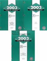 2003 Pontiac Grand Prix Service Manual Volume 1, 2, 3
