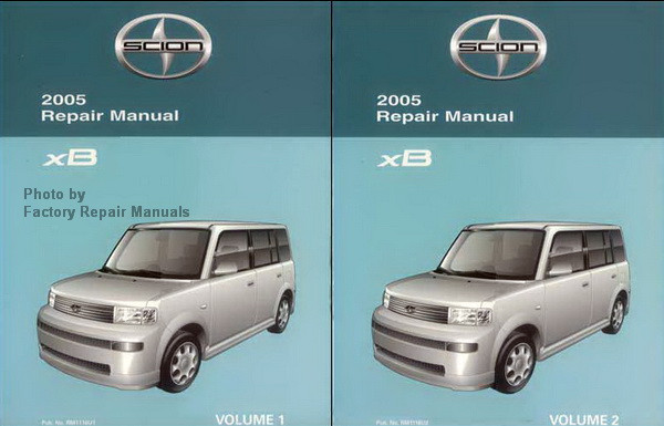 2005 scion xb factory service manual set original shop repair rh factoryrepairmanuals com 2005 scion tc parts manual 2005 scion tc repair manual download