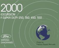 2000 Ford Excursion F-Super Duty F250 F350 F450 F550 Wiring Diagrams