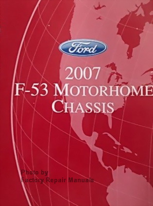 2006 ford f53 motorhome chassis factory shop service manual wiring rh factoryrepairmanuals com Ford F53 Motorhome Wiring 95 Ford F53 Low Power