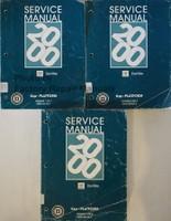 Service Manual 2000 Cadillac Deville Volume 1, 2, 3