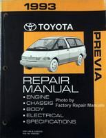 1993 Toyota Previa Repair Manual