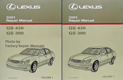 2001 lexus gs430 gs300 factory service manual set original shop rh factoryrepairmanuals com 2001 lexus ls430 repair manual pdf 2001 lexus gs300 repair manual