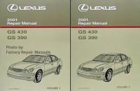 2001 LEXUS GS430 & GS300 Factory Service Manuals