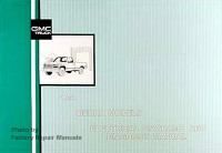 1991 GMC Sierra Electrical Diagrams & Diagnosis Manual