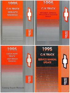 1995 chevy gmc pickup truck suburban tahoe yukon factory service rh factoryrepairmanuals com Chevrolet Express 3500 Rear 1995 Chevrolet