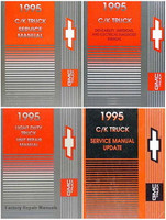 1995 Chevy GMC C/K Truck Factory Service Manuals