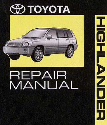 2007 toyota highlander factory service manual 4 volumes original rh factoryrepairmanuals com 2010 toyota highlander manual pdf 2010 toyota highlander manual free download