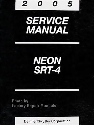 2005 dodge neon factory service manual original shop repair rh factoryrepairmanuals com Service Repair Manuals Online Appliance Repair Service Manuals