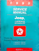 1995 Jeep Wrangler & Cherokee Factory Service Manual