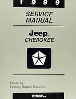 1999 Service Manual Jeep Cherokee
