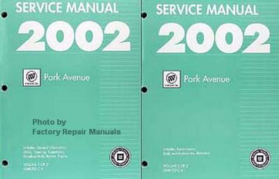 2002 buick park avenue factory service manual set original shop rh factoryrepairmanuals com 2004 buick park avenue manual 1991 Buick Park Avenue Ultra