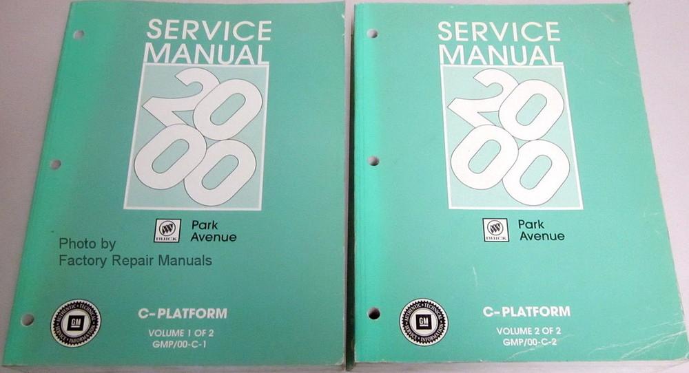 2000 buick lesabre repair manual free