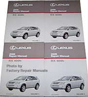 2008 Lexus RX400h Repair Manuals