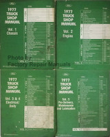 1977 Ford Truck Shop Manuals