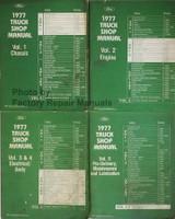 1977 Ford Truck Shop Manuals