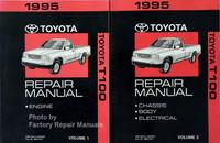 1995 Toyota T100 Repair Manuals Volume 1, 2