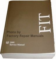 Honda Fit 2009 Service Manual