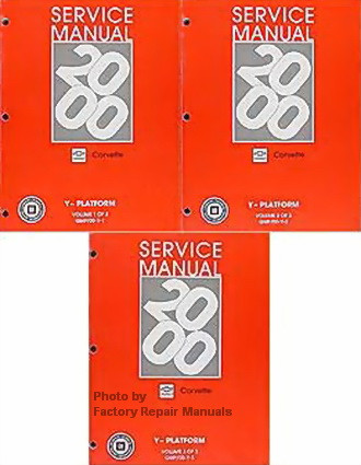 2000 chevy corvette factory service manual complete set shop repair rh factoryrepairmanuals com 2000 corvette owners manual pdf 2000 corvette owners manual free