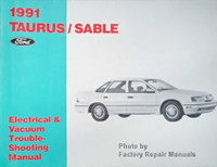 1991 Ford Taurus Mercury Sable Electrical and Vacuum Troubleshooting Manual